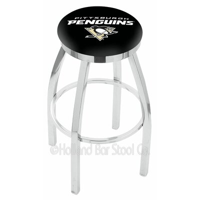 NHL 30 Swivel Bar Stool NHL Team: Pittsburgh Penguins