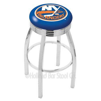 NHL 30 Swivel Bar Stool NHL Team: New York Islanders