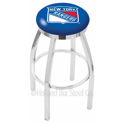 NHL 30 Swivel Bar Stool NHL Team: New York Rangers