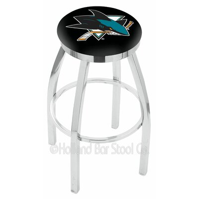 NHL 30 Swivel Bar Stool NHL Team: San Jose Sharks