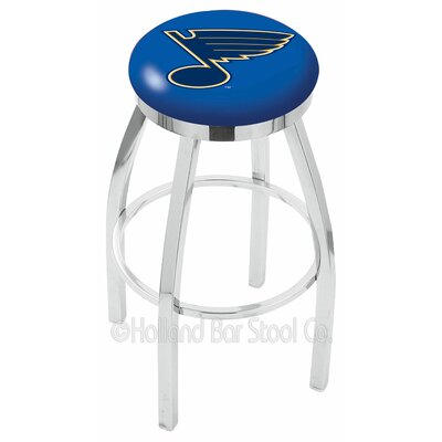 NHL 25 Swivel Bar Stool NHL Team: St Louis Blues
