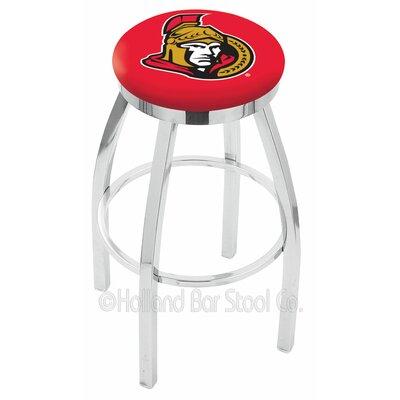 NHL 25 Swivel Bar Stool NHL Team: Ottawa Senators