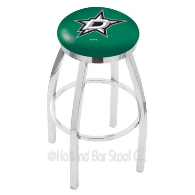 NHL 25 Swivel Bar Stool NHL Team: Dallas Stars