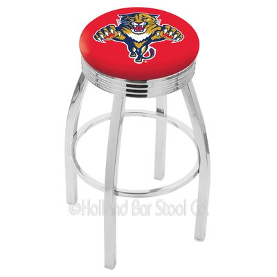 NHL 25 Swivel Bar Stool NHL Team: Florida Panthers