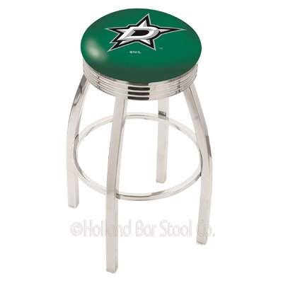 NHL 30 Swivel Bar Stool NHL Team: Dallas Stars
