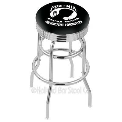 US Armed Forces 25 Swivel Bar Stool Branch: POW/MIA