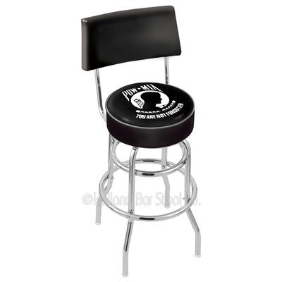 US Armed Forces 30 Swivel Bar Stool Branch: POW/MIA