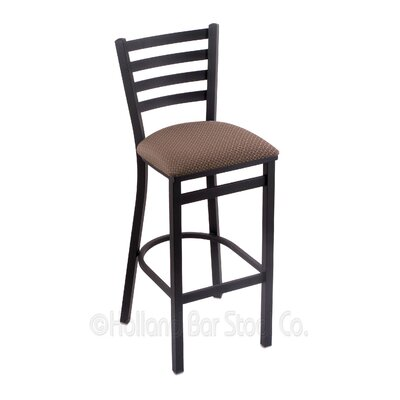 Jackie 25 Swivel Bar Stool Upholstery: Axis Willow