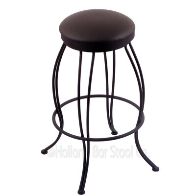 Georgian 30 Swivel Bar Stool Upholstery: Allante Espresso