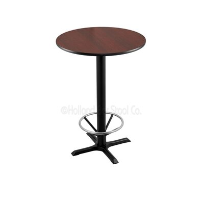 42 Pub Table Tabletop Size: 24 Dia