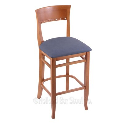 25 Bar Stool Upholstery: Rein Bay, Finish: Medium