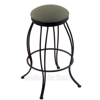 Georgian 30 Swivel Bar Stool Upholstery: Axis Grove