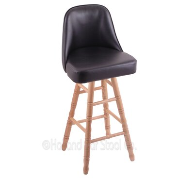 Grizzly 30 Swivel Bar Stool Base Finish: Natural Oak