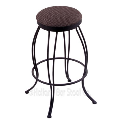 Georgian 25 Swivel Bar Stool Upholstery: Axis Truffle