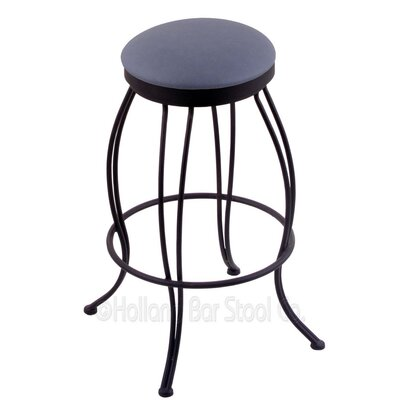 Georgian 30 Swivel Bar Stool Upholstery: Rein Bay
