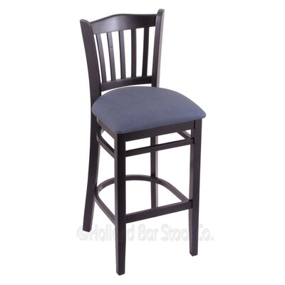 30 Bar Stool Finish: Black, Upholstery: Rein Bay