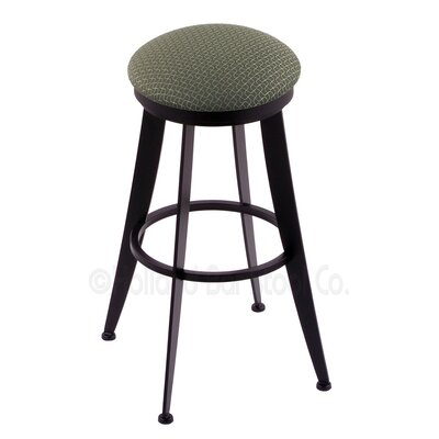 Laser 30 Swivel Bar Stool Upholstery: Axis Grove