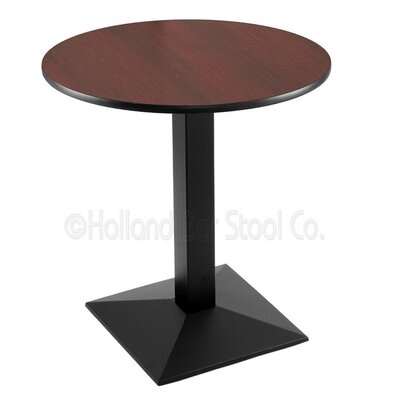 30 Pub Table Finish: Black, Tabletop Size: 24 Dia
