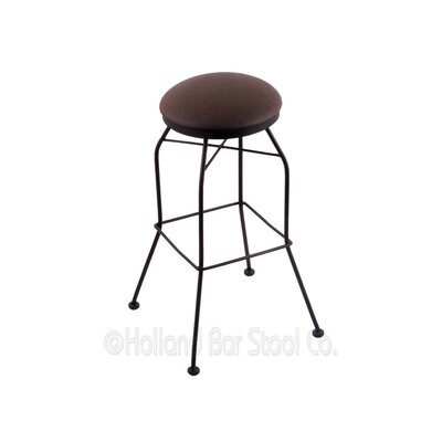 25 Swivel Bar Stool Upholstery: Rein Coffee