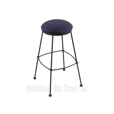 25 Bar Stool Upholstery: Allante Dark Blue
