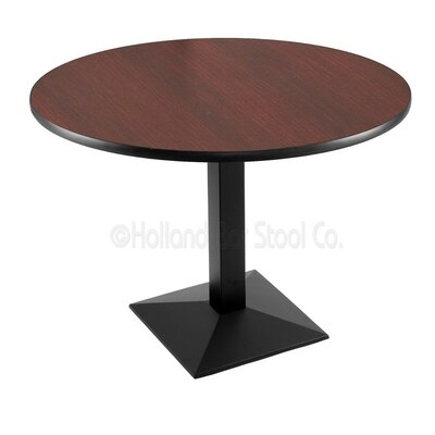 30 Pub Table Tabletop Size: 36 Dia, Finish: Black