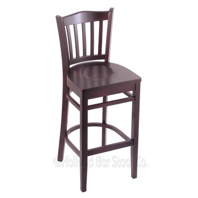 30 Bar Stool Finish: Dark Cherry