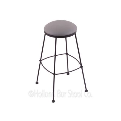 25 Bar Stool Upholstery: Allante Medium Grey