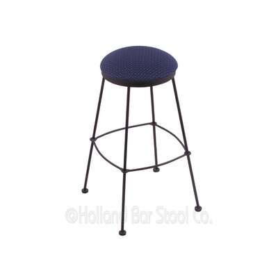25 Bar Stool Upholstery: Axis Denim