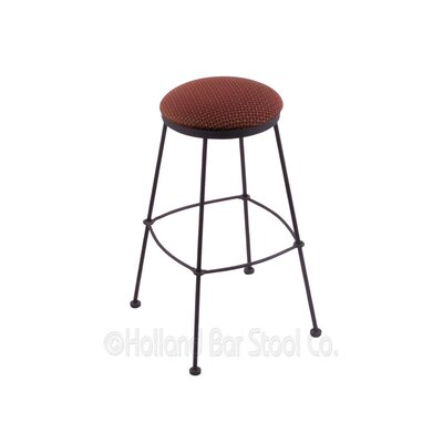 25 Bar Stool Upholstery: Axis Paprika