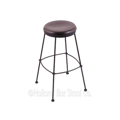 30 Bar Stool Upholstery: Dark Cherry Oak