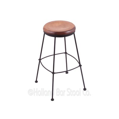 30 Bar Stool Upholstery: Medium Maple