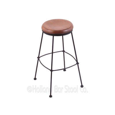 30 Bar Stool Upholstery: Medium Oak