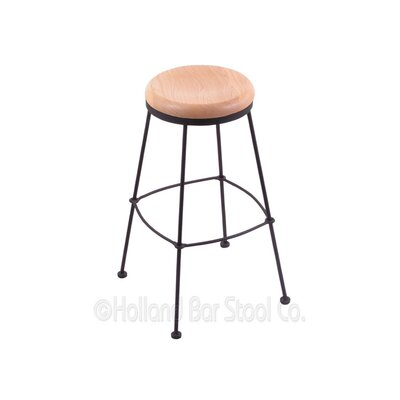 30 Bar Stool Upholstery: Natural Oak