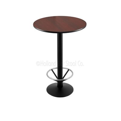 36 Pub Table Tabletop Size: 24 Dia