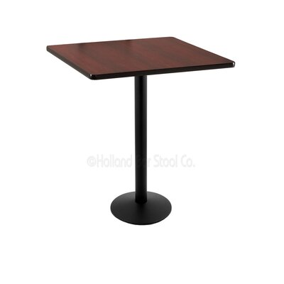 36 inch Pub Table Finish: Black