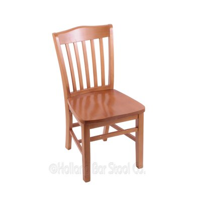 Solid Wood Dining Chair Finish: Medium