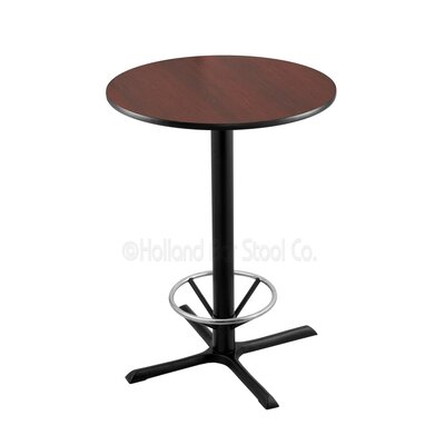 36 Pub Table Tabletop Size: 30 Dia