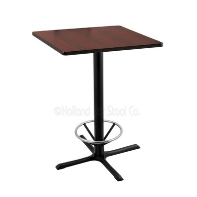 36 Pub Table Tabletop Size: 30 x 30