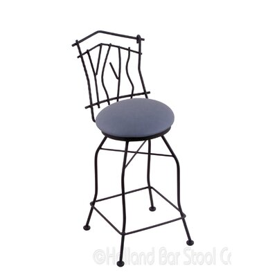 Aspen 30 Swivel Bar Stool Upholstery: Rein Bay