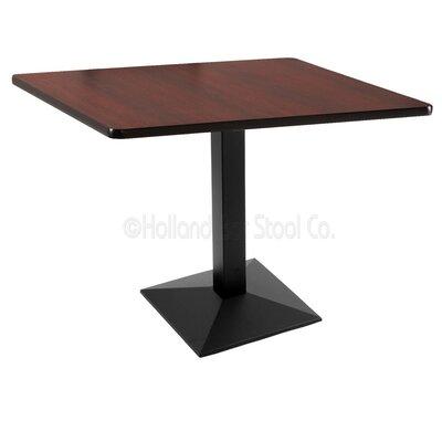 30 Pub Table Color: Black, Tabletop Size: 36 x 36