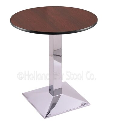 30 Pub Table Color: Chrome, Tabletop Size: 24 Dia