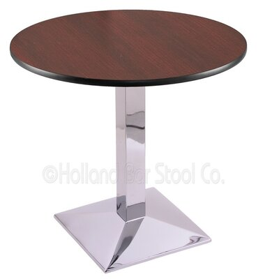 30 Pub Table Finish: Chrome, Tabletop Size: 30 Dia
