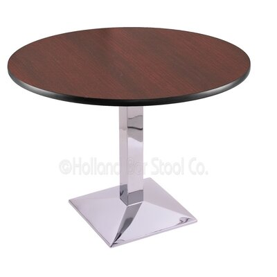 30 inch Pub Table Finish: Chrome, Tabletop Size: 36 inch Dia
