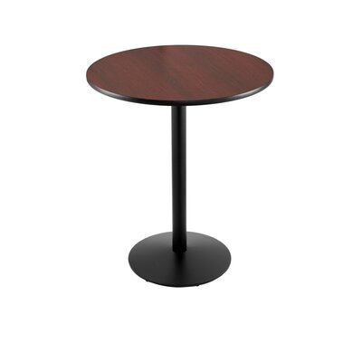 36 Pub Table Finish: Black, Tabletop Size: 30 Dia