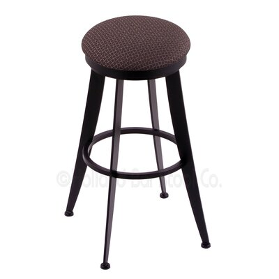 Laser 25 Swivel Bar Stool Upholstery: Axis Truffle