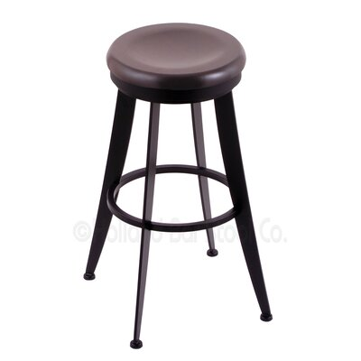 Laser 30 Swivel Bar Stool Upholstery: Dark Cherry Maple