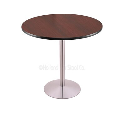 42 Pub Table Tabletop Size: 36 Dia, Finish: Stainless