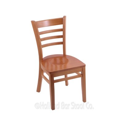 Solid Wood Dining Chair Finish: Medium