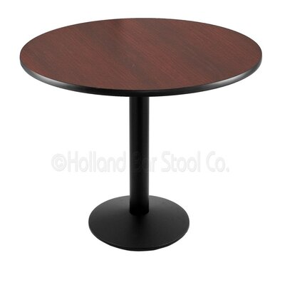 30 Pub Table Finish: Black, Tabletop Size: 30 Dia