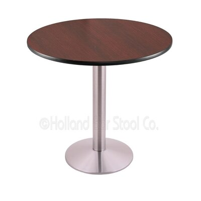 30 Pub Table Finish: Stainless, Tabletop Size: 24 Dia